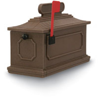 Coffee 1812 Architectural Series Mailbox